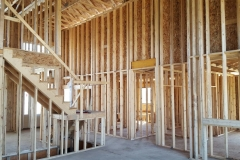 2 x 4 framing interior