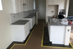 kitchen and hard wood floor