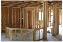 kitchen framing interior