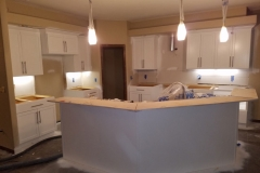 Interior painting kitchen