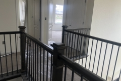 railing and carpet