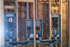 Neat electrical panels
