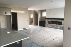 living area painting