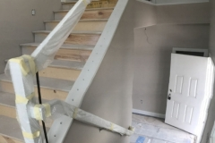 stairwell painting